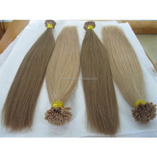 salon pre-tipped hair extension high quality pre-bonded hair extension