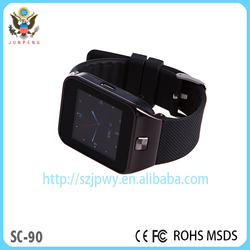 new watch phone 2015 latest wrist watch mobile phone