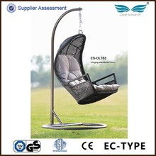 Hot selling modern style outdoor rattan hanging chair for sale