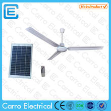 "48"" 56"" dc decorative ceiling fan AC DC double use solar bldc fan with remote control"