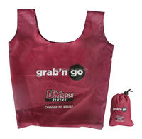 New Design Ripstop Nylon Bag Manufactures with Integrated Drawstring Pouch