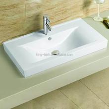 Sinks Bathroom Cabinet , cabinet countertop sink,bathroom square counter top basin