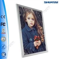 High quality aluminum backlit led picture photo light frame