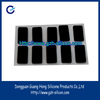 Factory customized high quality 3m adhesive silicone feet