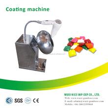Sugar film coating pan,nuts,chocolate lab coating machine