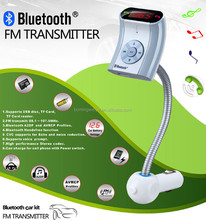 2015 wholesale wireless bluetooth car mp3 player fm transmitter