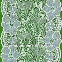 charming flowers desgin lace/african organza lilace lace fabric for sale