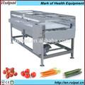 automático de frutas vegetales y máquinas de limpieza