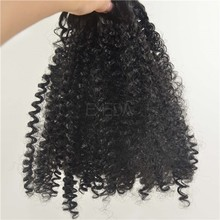Synthetic afro kinky curly hair weave extensions