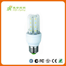 Super bright 2u 3U 4U 5w led corn bulb with 360 degree angle led energy bulb