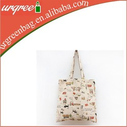 Portable Trendy Cotton Tote Bag For Girls