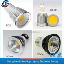 50-60HZ rgb spotlight cob led spotlight mr16 cri 90 zhongshan led ceiling recessed spotlight