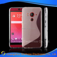 S line tpu soft cell phone case For HTC J Butterfly 3 HTV31