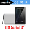 10 inch 1024x600 cheap oem tablet pc Allwinner A83T Otca Core 1GB 16GB ROM wifi 5000mAh android 4.4 tablets