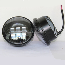 """4-1/2"""" 4.5 inch LED Auxiliary Spot Fog Passing Lights Lamps Fit Harley Softail Road King"""