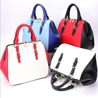 2014 Top selling turkish leather bags leather fashion handbag italian leather bag factory be a queen