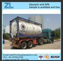 glyoxylic acid is used as a key intermediate in Pharma,CAS NO.:298-12-4