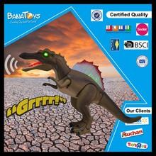 2016 nuevos productos parque de dinosaurios eléctrica Spinosaurus dinosaur mudanza juguete
