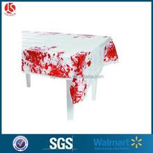Disposable table cloth/tablecloth Holloween bleeding tablecover