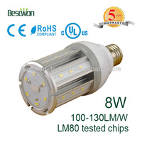 high quality replace HPS/HID/CFL 8w led corn light