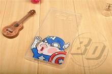 Creative Mobile Phone Case For Samsung Galaxy A7 Clear Soft TPU Cartoon Bump Face Back Cover Case
