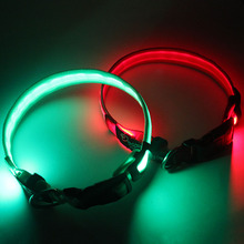 2016 China customize safety led dog collar for any pets high quality