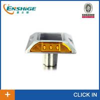 IP68 aluminum solar road reflector,solar flashing road cat eye ,aluminum solar road stud