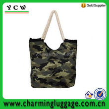 Fashion Camouflage military pattern recycled cotton diaper mummy bag
