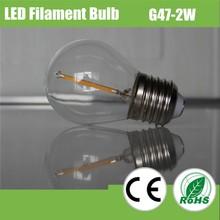 G45 High Efficiency Low Cost Led Filament Bulb