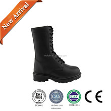 high quality light weight cheap durable outdoor safety leather black army shoes