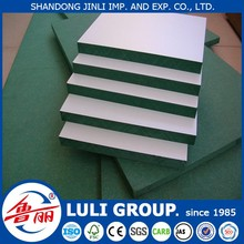 Hot Sale! 4*8ft 12mm 15mm 18mm High quality Waterproof MDF Board, , Green MDF, HMR MDF Board with CE FSC CARB SGS ISO for sale