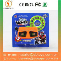 Wholesale 3D plastic kids toy picture viewer with 2 discs