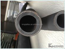 high quality abrasion resistant NR concrete pump rubber hose pipe