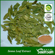 100% pure natural senna leaf extract