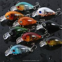 New Sea Bass Fishing Lures CrankBait Crank Bait Tackle Artificial Hard Fishing Lure 4.5cm/4g