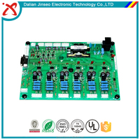 Audio power amplifier 2 layer Electronic circuit board pcb design