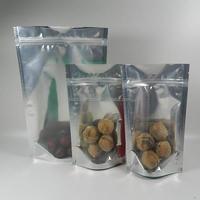 large different sizes aluminum foil bag for pet food virgin pill reclosable sachet bag bag for cloth