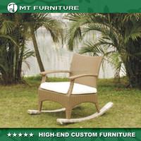 Rattan Rocking Chair for Garden