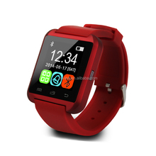 Lastest silicone waterproof wrist watch mobile phone
