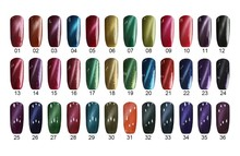 1kg Factory Direct cat eye color gel nail polish Gel Nails 36 color