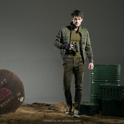 FreeArmy manufacturer OEM custom 100%polyester motorbike jacket