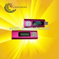 LCD screen usb stick mp3 music player