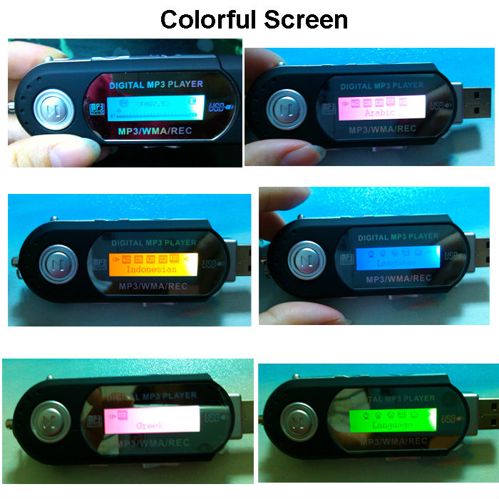 Wholesale 128mb 512mb 1gb 2gb 4gb Digital Mp3 Player With Display ...