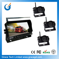 wireless reverse camera and parking sensor for car rear view security system
