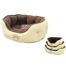 Pet Bed Dog Puppy Bed with Paw Logo Low Price, Sedex Audit!!! 2015 NEW!!!