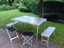 Elite Picnic camping Table and bench Set