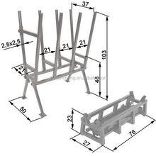 OEM exported white sawhorse desk