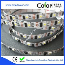 ws2801 160ic controllable 5m flexible white led strip