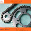 Cheap price motorcycle parts natural color 420 428 motorcycle chain