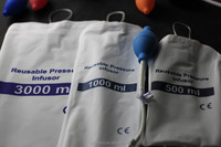 Manual Pressure Infusion Bag with inflatable bulb